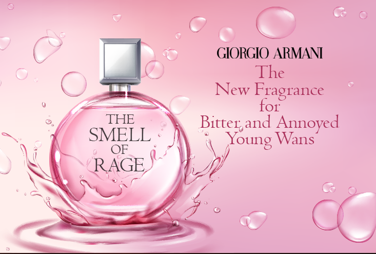 The Smell of Rage to be made in to a perfume fragrance
